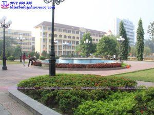 Đài phun nước trường đại học sư phạm Thái Nguyên 4