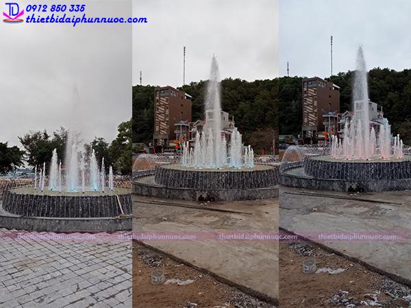 Đài phun nước khu đô thị mới 2