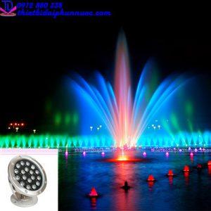 Đèn âm nước 18W - Đèn Led trang trí dưới nước 1