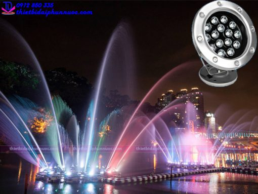 Đèn âm nước 18W - Đèn Led trang trí dưới nước 2