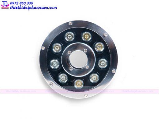 Đèn âm nước dạng bánh xe 9W đổi màu 4