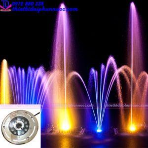 Đèn âm sàn dạng bánh xe 12W