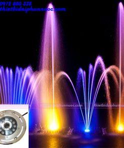 Đèn Led âm nước 12W có lỗ 1