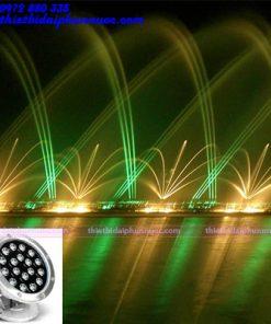 Đèn Led âm nước 54W