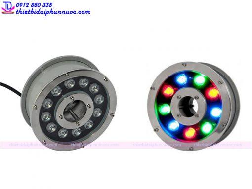 Đèn Led âm nước dạng bánh xe 12W đổi màu 3