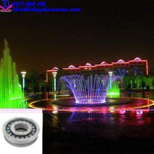 Đèn Led âm nước dạng bánh xe 18W đổi màu 3
