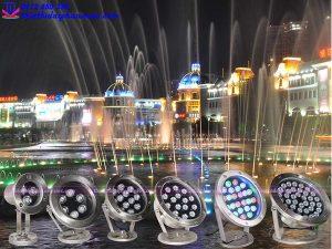 Đèn Led cho đài phun nước