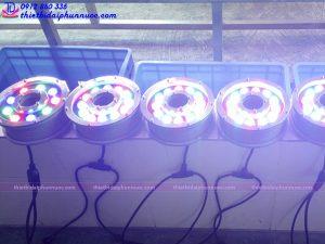 Đèn Led dưới nước dạng bánh xe 36W đổi màu 3