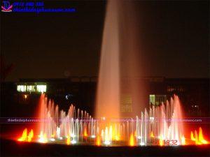 Hệ thống phun nước nghệ thuật 5