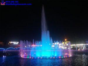 Thiết kế đài phun nước cho thị xã Phổ Yên Thái Nguyên