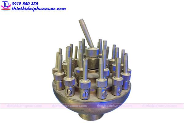 Vòi phun tia 3 tầng tạo hình hoa hiệu TDV