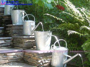 Cách làm đài phun nước mini 11