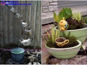 Cách làm đài phun nước mini 12
