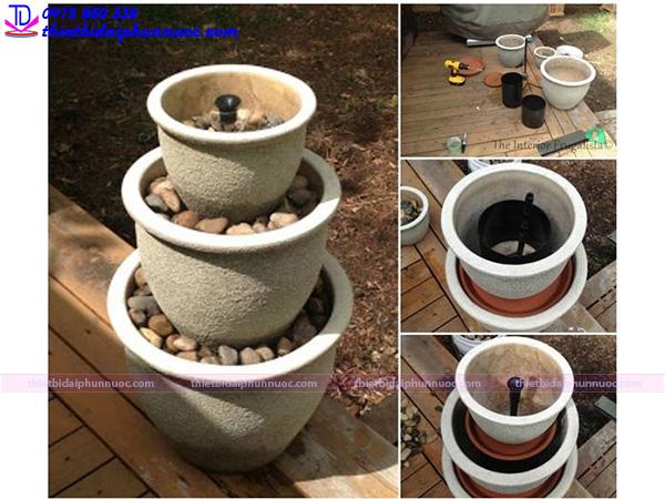 Cách làm đài phun nước mini 5