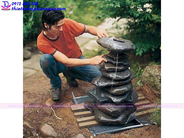 Cách làm đài phun nước mini 8