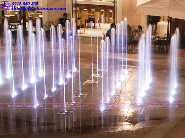Đài phun nước âm sàn 13