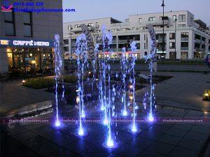 Đài phun nước âm sàn 16