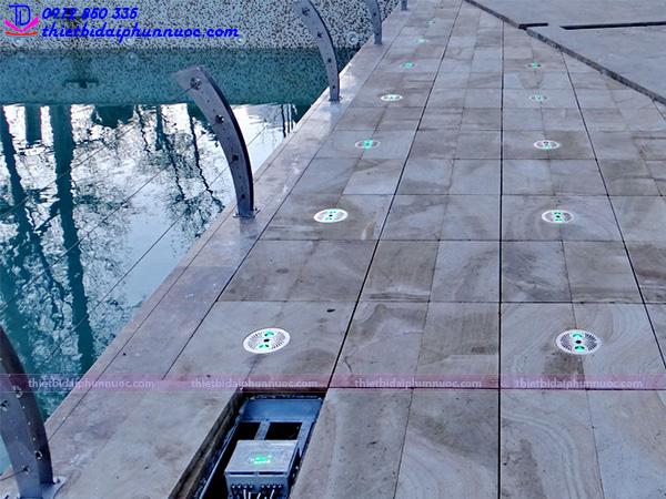 Đài phun nước âm sàn 3