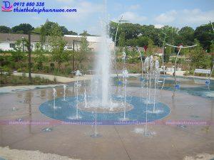 Đài phun nước âm sàn 7