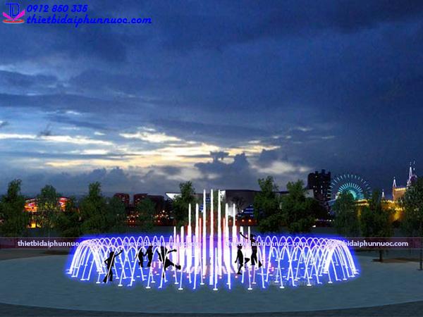 Đài phun nước bể cạn 14