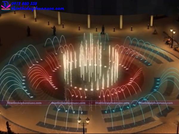 Đài phun nước bể cạn 4