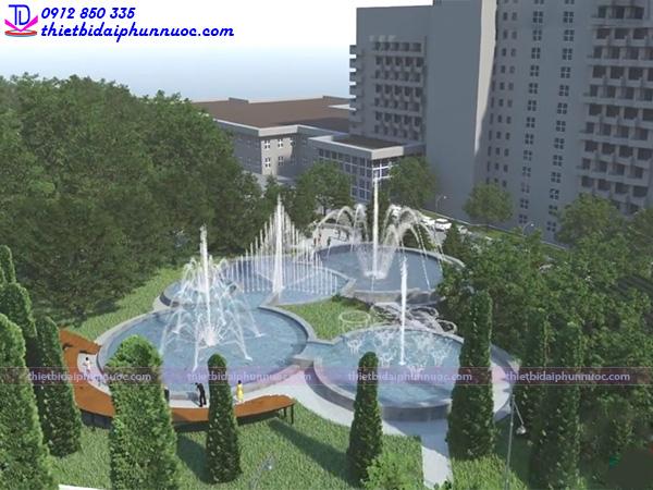 Đài phun nước công viên 19