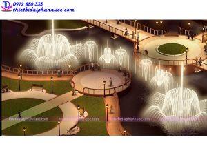Đài phun nước công viên 4
