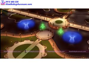 Đài phun nước công viên 5