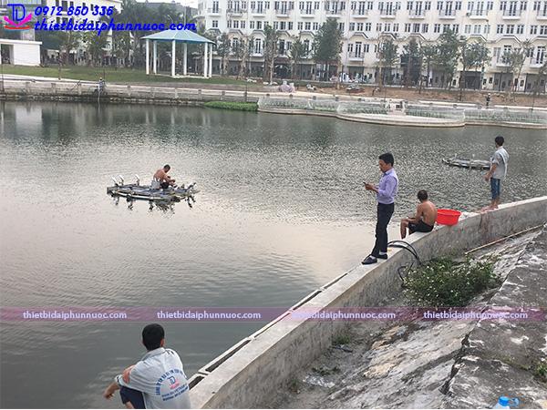 Đài phun nước phao nổi 16