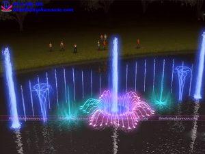 Hệ thống phun nước phao nổi 13