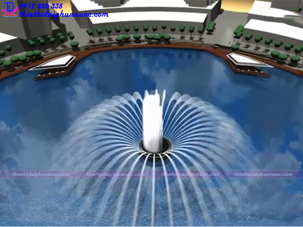 Hệ thống phun nước phao nổi 27
