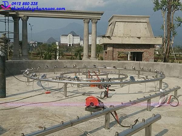 Lắp đặt đài phun nước 11