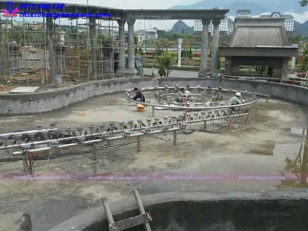 Lắp đặt đài phun nước 12