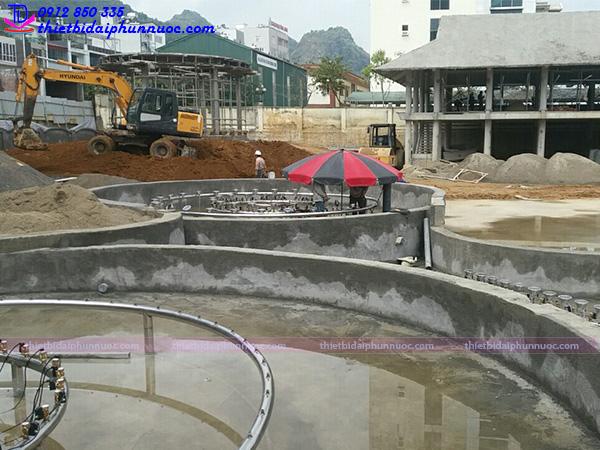 Lắp đặt đài phun nước 13