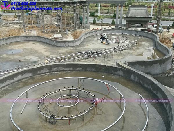 Lắp đặt đài phun nước 14