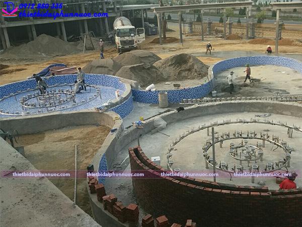 Lắp đặt đài phun nước 18