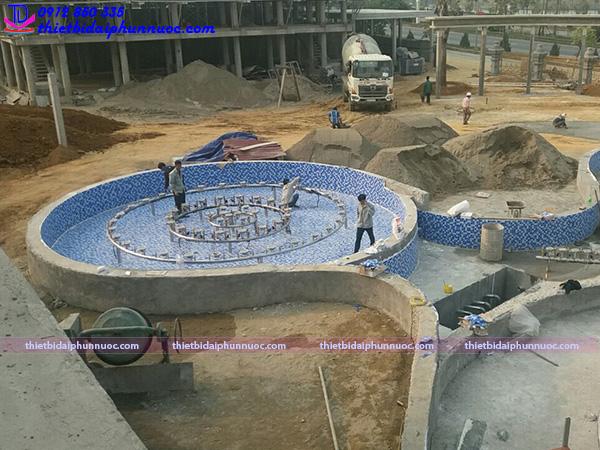 Lắp đặt đài phun nước 19