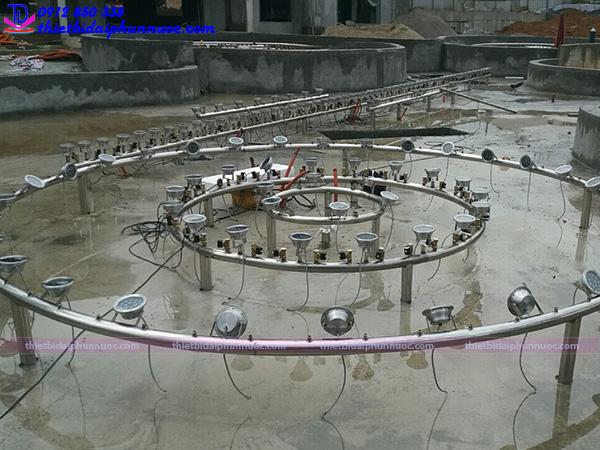 Lắp đặt đài phun nước 8