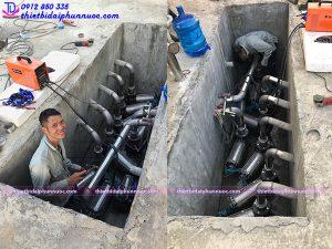 Lắp đặt đài phun nước 9