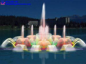 Mẫu đài phun nước 3D 11