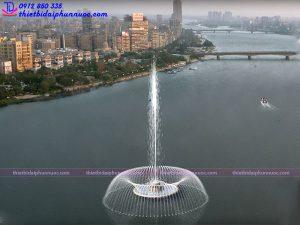 Mẫu đài phun nước 3D 13