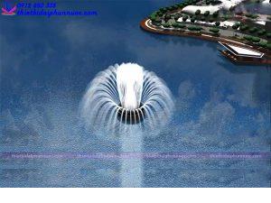 Mẫu đài phun nước 3D 14