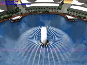 Mẫu đài phun nước 3D 15