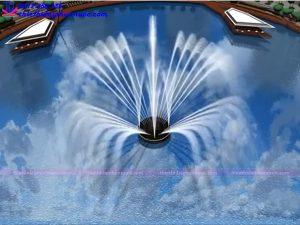Mẫu đài phun nước 3D 16