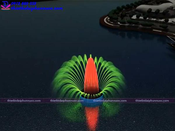 Mẫu đài phun nước 3D 18