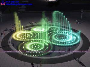Mẫu đài phun nước 3D 2