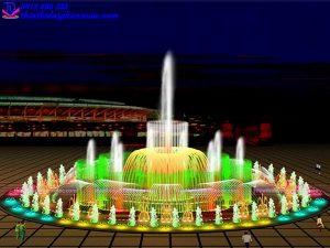 Mẫu đài phun nước 3D 26