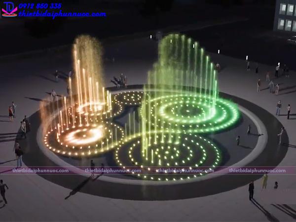 Mẫu đài phun nước 3D 3