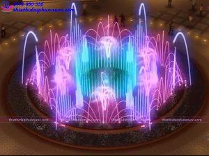 Mẫu đài phun nước 3D 33