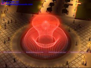 Mẫu đài phun nước 3D 34
